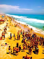 Sunny summer crowds at the beach - Law Offices of William E. Maguire, Specializing In Trademark and Copyright Law,  TrademarkEsq, TMEsq